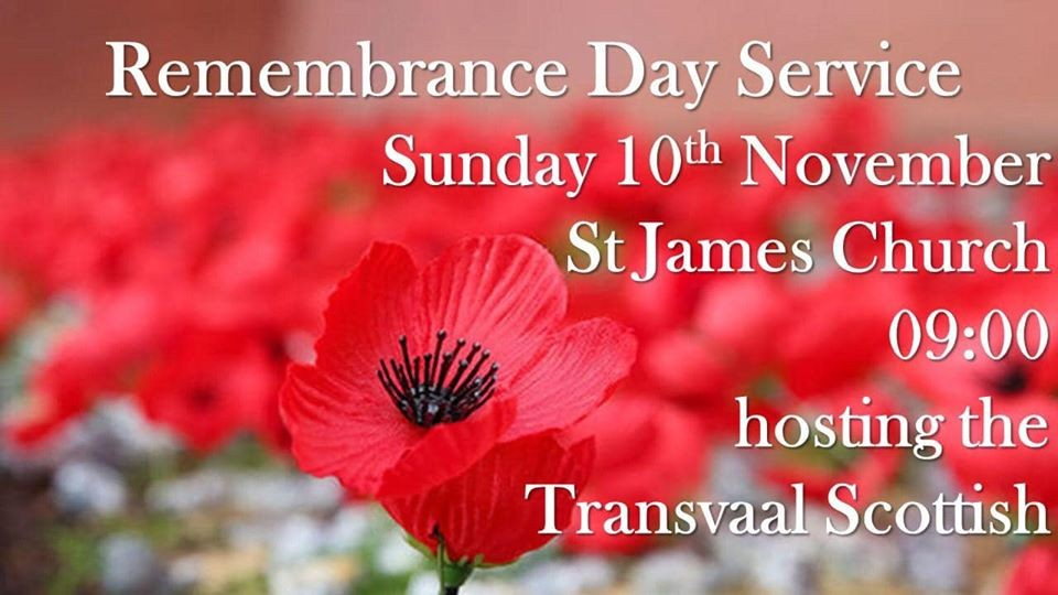 Rememberance Day Service St. James